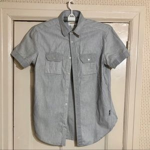 Diesel Short Sleeve Button Down Shirt